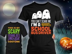 Limited Edition School Bus Driver Halloween Design http://keepitschool.com/collections/school-bus-drivers-unite?Pin=SQ