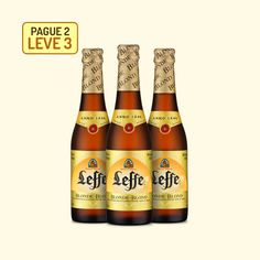 Cerveja Leffe Blonde - 330 Ml - Promoção Pague 2, Leve 3