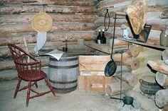 Slave cabin kitchen
