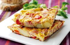 A simple Oak smoked ham and pepper frittata recipe for you to cook a great meal for family or friends. Buy the ingredients for our Oak smoked ham and pepper frittata recipe from Tesco today.