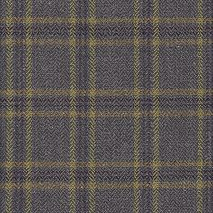 Orkney Check 'Larch' - Simple but sophisticated square check in a herringbone weave.