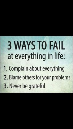 3 ways to fail at everything thing in life