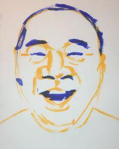 いいね!3件、コメント1件 ― @1mindrawのInstagramアカウント: 「#1mindraw #gutsishimatsu #ガッツ石松 #19490605 #birthday #誕生日 #portrait #筆ペン画」
