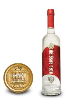 2013 International Craft Spirits Awards Competition | Real Russian Vodka