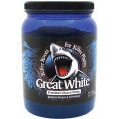 Plant Success Great White Premium Mycorrhizae - 8 Ounce. The combination of mycorrhizae, beneficial bacteria, trichoderma, and plant vitamins will give your platns a strong and developed root system. Also it will increase water uptake and the overall absorption area of the root system, resulting in a healthier plant. Great White 8 oz. Great White is the most advanced mycorrhizal product on the market today. May also be injected in to media. Can be used in hydroponics as well as soil.