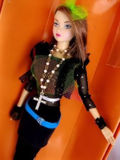 OOAK Custom Madonna theme R&D susie doll MIB articulated joint body barbie size