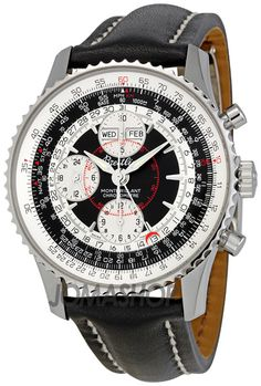 Breitling Montbrilliant Datora Black Dial Chronograph Mens Watch. List price: $6720