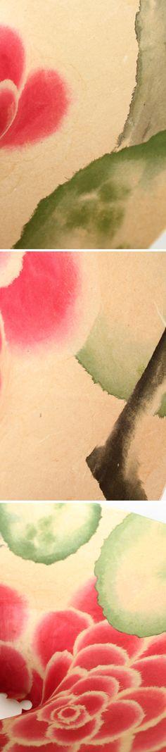 密買東京|明かりに咲く花(キャンバスランプ・ちぎり絵 大輪の花 - 村松さちえ -) #密買東京 #密買 #mitsubai #mitsubaitokyo #mitsubai_tokyo #村松さちえ #キャンバスランプ #ちぎり絵大輪の花