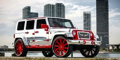 Cars Gallery | Jeep | Wrangler | Red | Forgiato