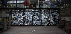 Memorial to fiction - Ianto´s Shrine Cardiff Bay 2013