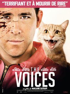 The Voices, avec Ryan Reynolds, Gemma Arterton - le 11/03/15 à #Kinepolis >> http://kinepolis.fr/films/voices?utm_source=pinterest&utm_medium=social&utm_campaign=thevoices#showtimes