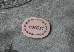 GHOST brooch