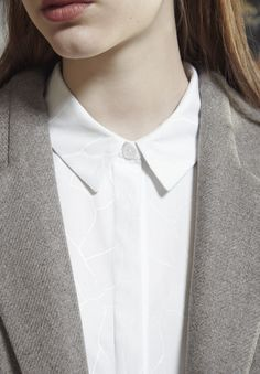 """AKIN TO _______  AW15 """"Plomb"""" Collection   Collar detail"""
