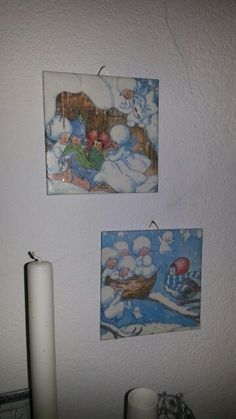 Serviettentechnik ( Winter Bilder)