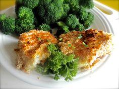 Broiled mustard panko cod with bertbuddy.com