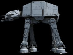 All-Terrain Armored Transport (AT-AT) by Ansel Hsiao on ArtStation. Imperial Walker, X Fighter, At At Walker, Lucas Arts, Star Wars Spaceships, Star Wars Models, Spaceship Design, Star Wars Images, Star Wars Ships