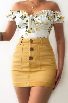 Summer Fashion Tips .Summer Fashion Tips Cute Casual Outfits, Girly Outfits, Mode Outfits, Skirt Outfits, Pretty Outfits, Stylish Outfits, Elegant Summer Outfits, Casual Summer, Teen Fashion Outfits