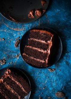Super Fudgy Mocha Layer Cake