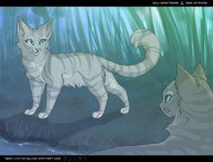 pictures of warrior cats | Graystripe & Silverstream - Warriors (Novel Series) Fan Art (24594411 ...