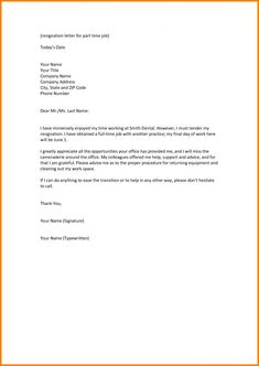 Example Resignation Letter Due To Misconduct And Misbehavior Of