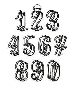 typo chiffres