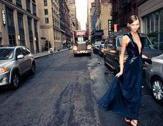 Karlie Kloss wearing Cushnie et Ochs