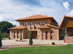 Gardenplaza - Romanische Dachziegel verleihen dem Haus einen mediterranen Charme - Französisches Flair für das Dach