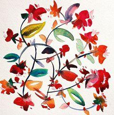 Anthology Magazine   Artwork   Watercolors by Kiana Mosley
