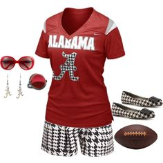 it's game day!!!!, created by jennifer-medlen on Polyvore