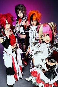 ok, not my style, but pretty cool anyway! Visual Kei - soompi