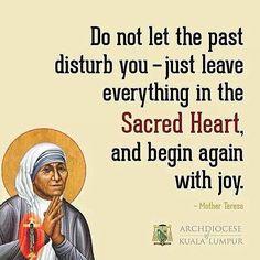 So true as the new year begins. #MotherTheresa #SacredHeart #Jesus by catholicsistas