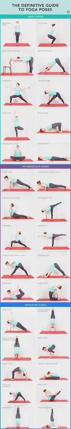 30 #YogaPoses You Really Need to Know #Fitness