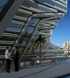 Stone Towers - Zaha Hadid Architects