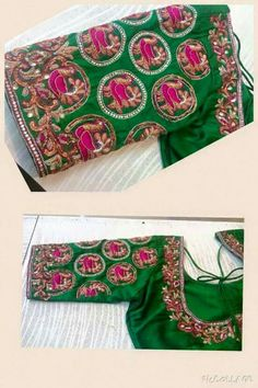 To order please whatsapp on 9618821933 Mirror Work Saree Blouse, Work Blouse, Saree Blouse Designs, Blouse Patterns, Maggam Work Designs, Indian Blouse, Sexy Blouse, Indian Beauty Saree, Sleeve Designs