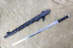 Two Handed Norman Sword (#1336) - Darksword-armory