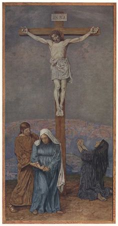 Crucifixion by Hans Thoma