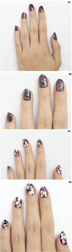 How To: Floral mani