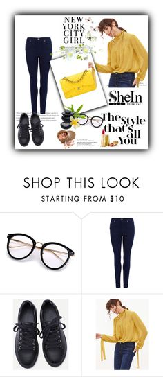 """""""Shein 27"""" by zerina913 ❤ liked on Polyvore featuring Barbour International, Chanel, H&M, Avon and shein"""