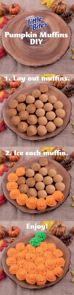 Make a pumpkin for your pumpkin with new limited time Little Bites Pumpkin Muffins. Pumpkin Recipes, Fall Recipes, Sweet Recipes, Holiday Recipes, Mexican Street Food, Thai Street Food, Holiday Treats, Halloween Treats, Logo Food