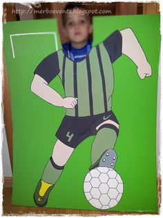 Photocall futbolero kit futbolero Merbo Events by Merbo Events, via Flickr