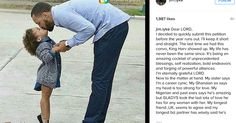 Actor Jim Iyke whohas a sonsent an open prayer to God via his Instagram page asking him to bless himwith a daughter in 2017. He wrote:  Dear LORD  I decided to quickly submit this petition before the year runs out. I'll keep it short and straight. The last time we had this convo King Harv showed up. My life has never been the same since. It's being an amazing cocktail of unprecedented blessings self realization bold endeavors and forging of powerful alliances.  I'm eternally grateful LORD…
