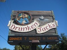 Drunken Jacks- Seafood in Murrells Inlet, SC.  Reviewers recommend arriving early (4pm) or making dinner reservations.