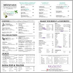 RIGOLETTO リゴレット『スパニッシュイタリアン』という、新しいイタリアンの形を提案!皿料理タパスから、ピッツァ、生パスタもご用意!