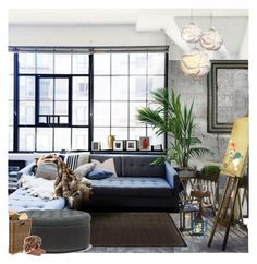 """""""DEPARTAMENTO DE UN EXCELENTE PINTOR"""" by marlene-11 ❤ liked on Polyvore featuring interior, interiors, interior design, home, home decor, interior decorating, Mateus, Made Goods, Shabby Chic and Andrew Martin"""