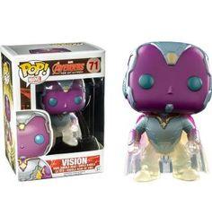 ***Got this!! *** Phasing Vision - Marvel: The Avengers - Exclusive Funko Pop! Vinyl Figure