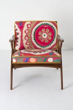 //pop of colour / chair design