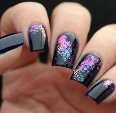 Mitty Shattered Galaxy Nail Art Powder