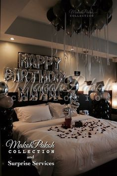 Giftsforher Mariage2019 Click Image To Read More Details Milestone Let Birthday Room Decorations Birthday Decorations For Men Romantic Room Decoration