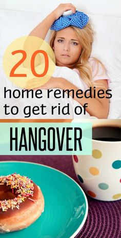 Natural ways to avoid the pain, or to tackle headaches, nausea, and general malaise of the hangover