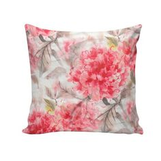 Capa para almofada Painted Roses 45x45